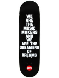 Hopps Music Maker Black Deck 8.125 x 31.75