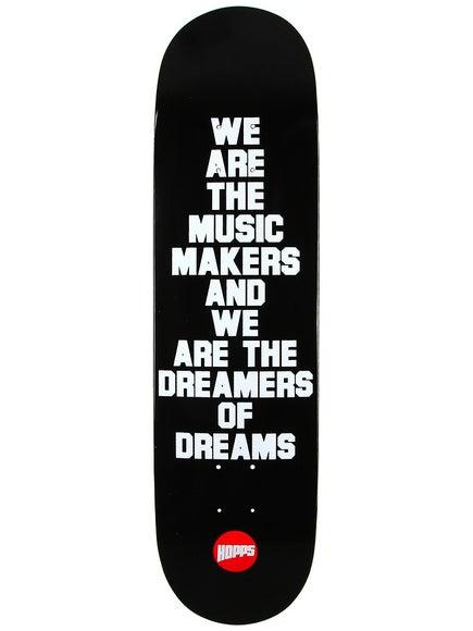 Hopps Music Maker Black Deck 8.125 x 31.75