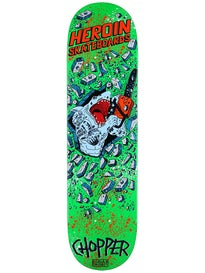 Heroin Chopper Shark Deck 8.0 x 32