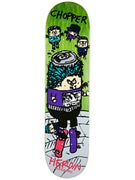 Heroin Chopper SKGBRDS Deck  7.875 x 31