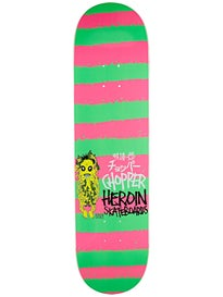 Heroin Chopper Striped Icon Deck  8.0 x 31.75