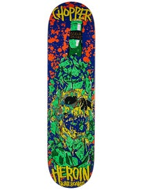 Heroin Chopper Skull Deck 8.0 x 31.875