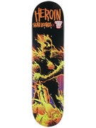 Heroin Dark Judges Fire Deck  8.0 x 31.75