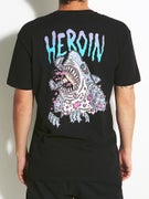 Heroin Park Shark T-Shirt
