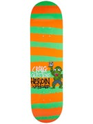 Heroin Questions Striped Icon Deck  8.44 x 32.5