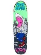 Heroin Road Shark Cruiser Green Deck  8.4 x 32