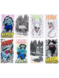 Heroin Spring 2017 Stickers 8 pack