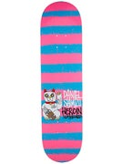 Heroin Shimizu Striped Icon Deck  8.0 x 31.75