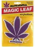 Skate Mental Purple Weed Leaf Air Freshener