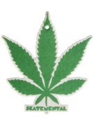 Skate Mental Green Weed Leaf Air Freshener