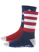 HUF All American Crew Socks