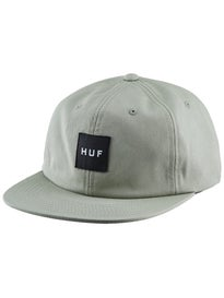 HUF Twill Box Logo 6 Panel Hat