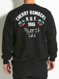HUF Cherry Bombers Crew Sweatshirt