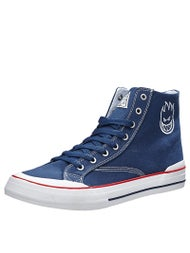 HUF x Spitfire Classic Hi Shoes  Navy Spitfire