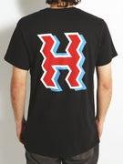 HUF Crooked H T-Shirt