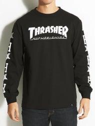 HUF x Thrasher Collab Logo L/S T-Shirt