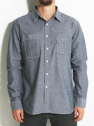 HUF Cigarette Pocket Chambray Woven
