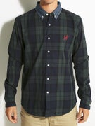 HUF Classic Plaid Woven