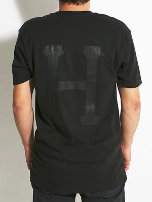 HUF Classic H Pocket Tee MD Black