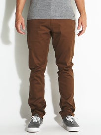 HUF x Chocolate Selvedge Chino Pants  Chocolate