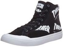 HUF x Thrasher Classic Hi Shoes Black