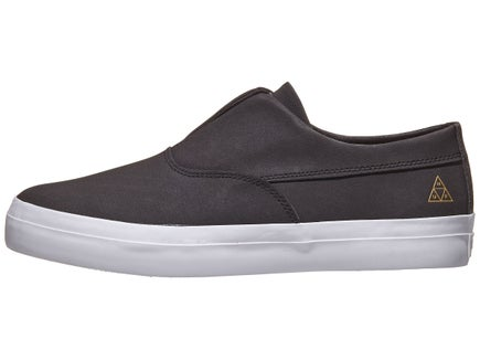 4e8bc83ea7774a HUF Dylan Slip On Shoes Black White