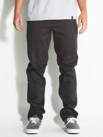 HUF Fulton Pants  Charcoal Heather