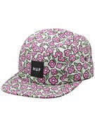 HUF x Krooked Volley 5 Panel Hat