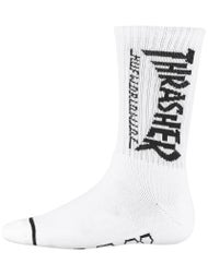 HUF x Thrasher Logo Crew Socks