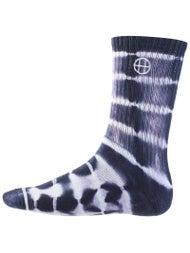 HUF Lightning Stripe Crew Socks