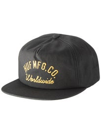 HUF Mechanics Snapback Hat