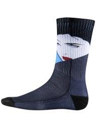 HUF x Nagel Crew Socks