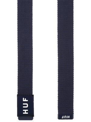 HUF Original Logo Scout Belt Navy