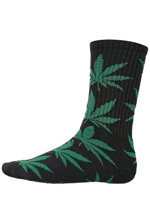 HUF Plant Life Socks Black/Green 2