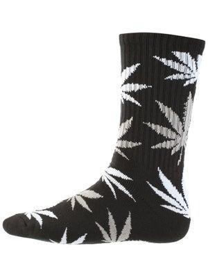 HUF Plant Life Socks Black/Gray Heather