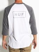 HUF Reflective Bar Logo Raglan