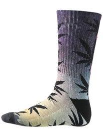HUF Scenic Plantlife Crew Socks