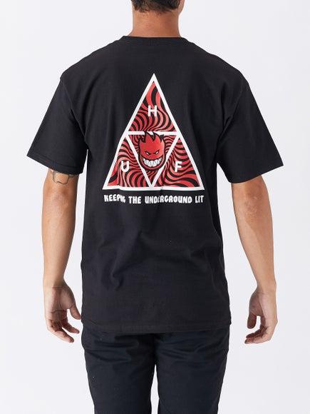 HUF x Spitfire Triple Triangle T-Shirt 8f3876e6a