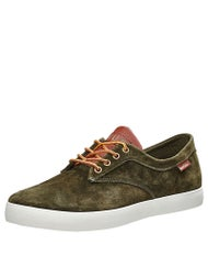 HUF Sutter Shoes  Olive