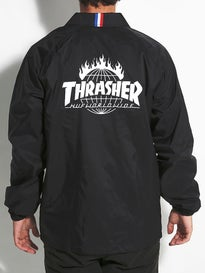 HUF x Thrasher TDS Coaches Jacket