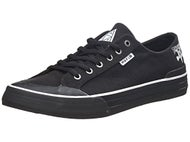 HUF x Thrasher Classic Lo Shoes  Black Canvas