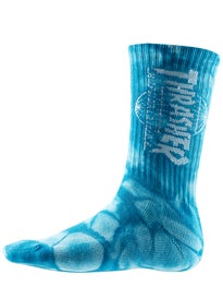 HUF Thrasher TDS Crystal Wash Crew Socks