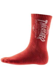 HUF Thrasher TDS Crystal Wash Crew Socks