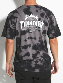 HUF Thrasher TDS Crystal Wash T-Shirt