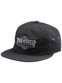 HUF Thrasher TDS 6 Panel Strapback Hat