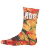 HUF Tie Dye Griffin Socks
