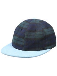 HUF Tartan 6 Panel Hat
