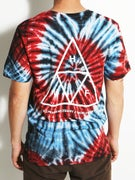 HUF Triple Triangle Spiral T-Shirt