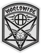 HUF x Thrasher Pentagram Sticker