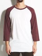 Hurley Staple 3/4 Sleeve Raglan T-Shirt